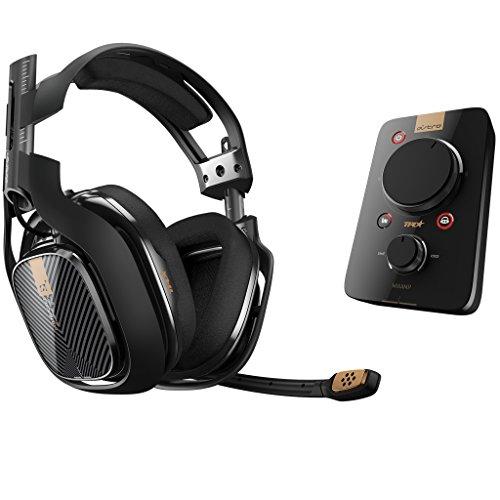 Astro A40 Gaming Headset mit MixAmp Pro TR Audio-Decoder, schwarz