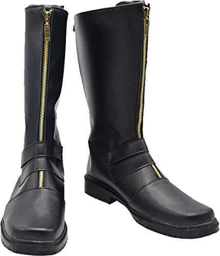 GSFDHDJS Cosplay Stiefel Schuhe for Devil May Cry Black