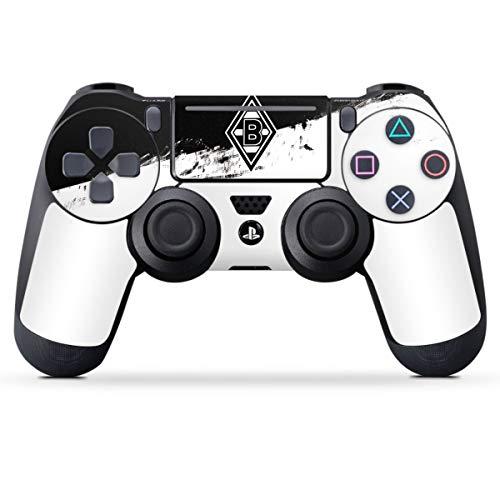 DeinDesign Skin kompatibel mit Sony Playstation 4 PS4 Slim Controller Folie Sticker Borussia Mönchengladbach Gladbach Bundesliga