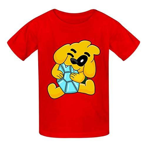 Aiyuheping M-ikecrac-k - Camiseta de manga corta para niños y niñas