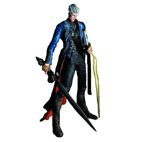 Devil May Cry Play Arts Kai Figure Vergil Aprox 8\
