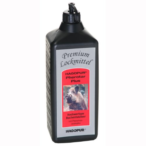 Hagopur Premium Lockmittel Pherotar Plus - 1L - erhöhter Anteil Pheromon-Analogika - hochwertiger Buchenholzteer