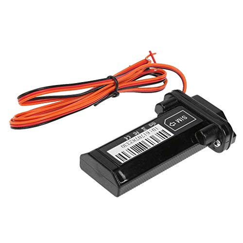 H HILABEE Mini Localizador GPS en Tiempo Real Vehículo GPS Tracker Coche Alarma Antirrobo
