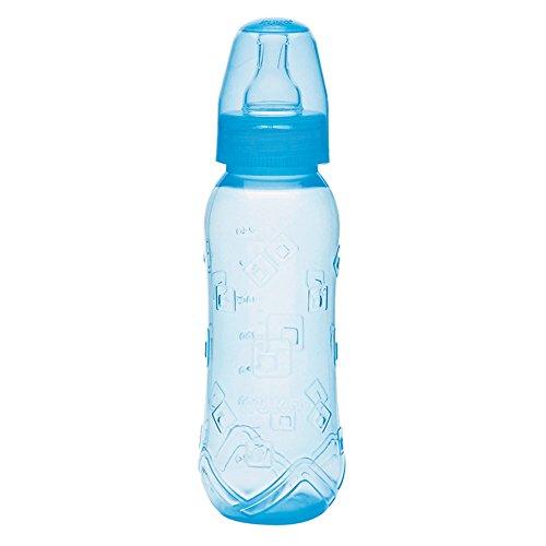 Mamadeira 250 ml Aquarela Bico Universal, Kuka, Azul