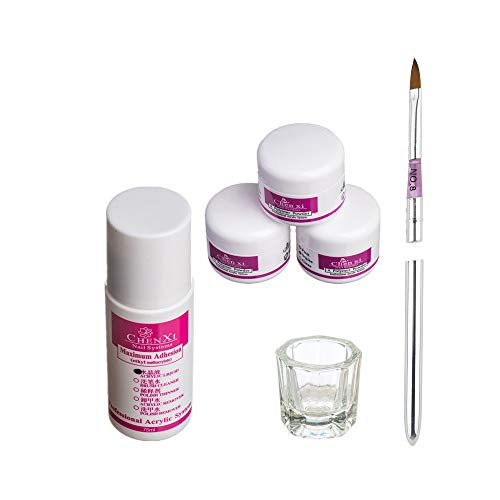 VANMO Nail Art Nagellackentferner, Acryl flüssiges Pulver Stift Dish Tools Set Kosmetik Kits Obligatorisch Nagellack und Dekoration Entfernen