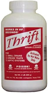 Thrift Marketing Inc Ty-0400879 Thrift Drain Cleaner 2 Lb -Pack of 3