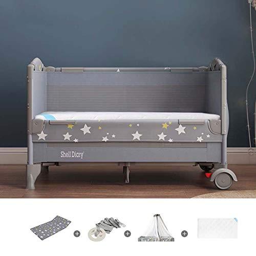 SHARESUN Baby-Stubenwagen, Nacht Sleeper Kinderbett, Schlaf Krippe am Bett, Einstellbarer und einfach zu montieren Bassinet für Baby, eine Vielzahl von Konfigurationen für Ihre Wahl,Type C
