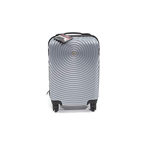 Freetime - Maleta semirrígida para equipaje de mano, muy ligera, ideal para viajes con Ryanair y EasyJet, tamaño 33 x 20 x 52 cm, color gris oscuro