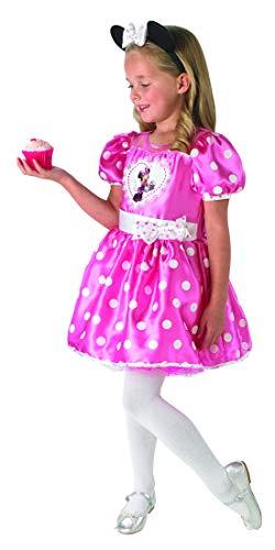 Luxuspiraten - Disfraz de cupcake para niña con vestido y diadema, perfecto para carnaval y Halloween, 98 – 128, muchos colores