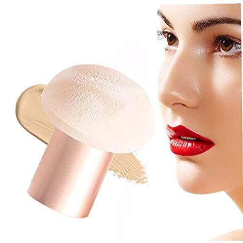 1pc Champignon Maquillage Beauté en forme Éponges humide et sec maquillage Puff Fondation Blender éponge cosmétique Pinceau parfait pour liquide, crème, poudre et