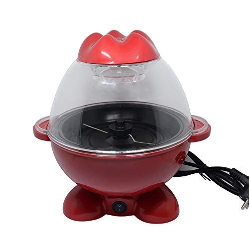 Peaceip popcornmachine, kleine popcornmachine, kan 10 kopjes anti-aanbaklaag gemakkelijk te reinigen en snel te maken