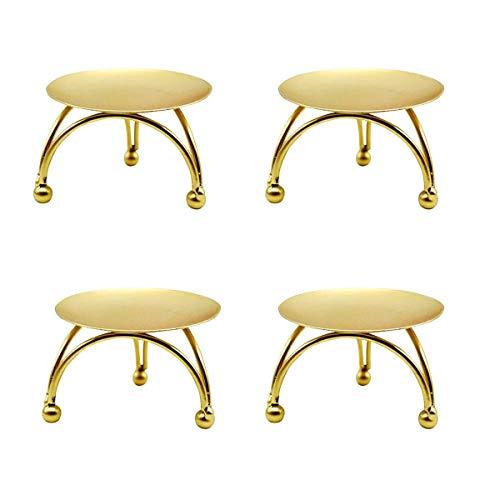 Candelabros Dorados Velas Grandes candelabros dorados  Marca RoadLoo