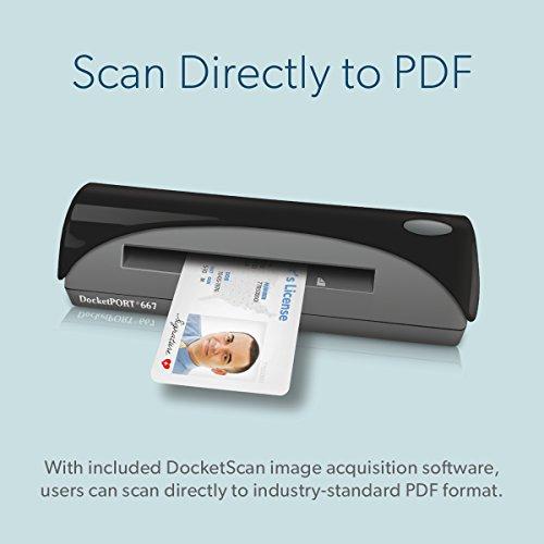 DocketPORT DP667 w/ABBYY Business Card Reading Software