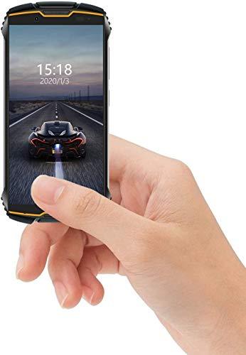 CUBOT King Kong Mini 4G teléfono IP68 Móvil Libre Impermeable Smartphone 4.0 Pulgadas Android 9.0 Dual SIM Quad-Core 13,0MP Cámara 3GB+32GB Quad-Core Amarillo, Rojo