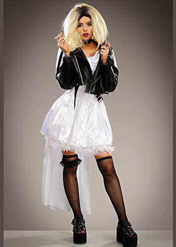 Delights Señoras Childsplay Traje de la Novia de Chucky Tiffany Medium (UK 12-14)