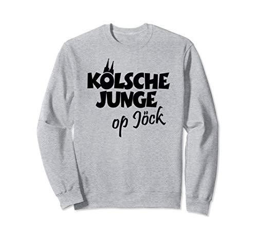 Kölsche Junge Op Jöck (Schwarz) Kölner aus Köln auf Tour Sweatshirt