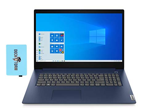2020 Lenovo IdeaPad 3 17 Intel i5-1035G1 Quad Core 12GB RAM, 128GB PCIe SSD + 1TB HDD, 17.3
