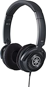 Yamaha HPH-150 Headphones, Quality, Clear Sound and Deep Bass, Open-Backed, Wired Musicians Headphones, in Black
