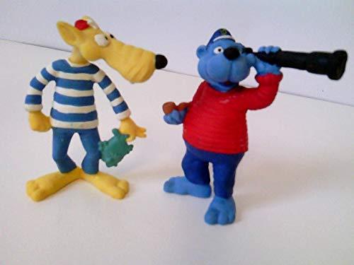 2 Figuren Set: Käpt´n Blaubär & Hein Blöd, Gummifigur, je ca. 6,5...