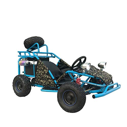 MU Kart Eléctrico Todoterreno Todoterreno Todoterreno Alquiler Plaza Parque Niños Kart Todoterreno,azul real,UNA