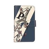 [bodenbaum] Galaxy S20 5G SC-51A / SCG01 手帳型 スマホケース カード ミラー スマホ ケース カバー ケータイ 携帯 SAMSUNG サムスン ギャラクシー エストゥエンティ ファイブジー docomo au PARIS 靴 エッフェル塔 a-275 (B.ネイビー)