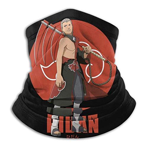AmyNovelty Scarf Headband,N-Aruto Akatsuki Hidan Head Wrap, Divertidas Diademas 12 En 1 para Escalada En Gimnasio,26x30cm