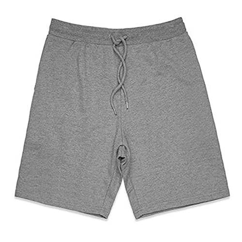 Katenyl Pantalones Cortos Deportivos básicos con Cintura elástica para Hombre, Pantalones Cortos de Entrenamiento para Correr, cómodos, Sencillos y Sencillos XL