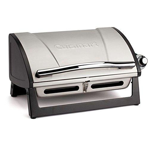 Cuisinart CGG-059 Grillster 8,000 BTU Portable Gas Grill (Renewed) Gas Grills