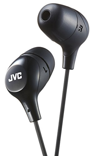 JVC HAFX38B Black Marshmallow in-Ear Headphones Original/New Brand