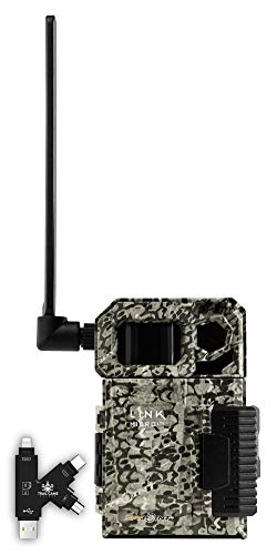 SPYPOINT Link-Micro-LTE Cellular Trail Camera with Card Reader (AT&T (USA Nationwide))