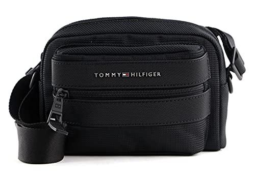Tommy Hilfiger Elevated Nylon Camera Bag Black