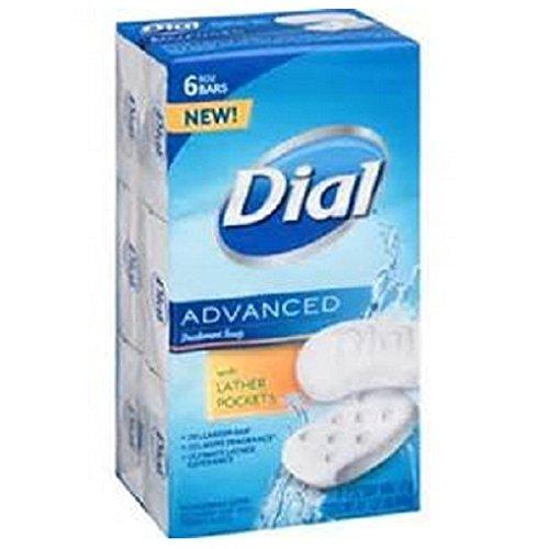 Dial Advanced Deodorant Soap (6 Bars)