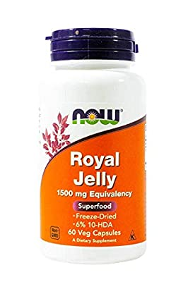Royal Jelly 1500mg 60 Capsules (Pack of 2)