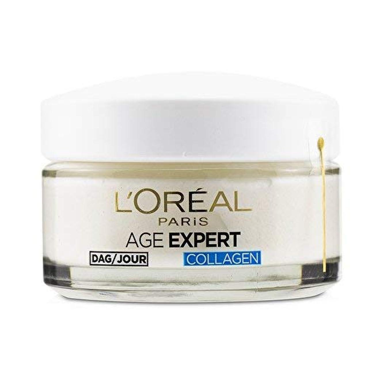 迫害するイーウェルやめるロレアル Age Expert 35+ Collagen Anti-Wrinkle Hydrating Day Cream 50ml/1.7oz並行輸入品