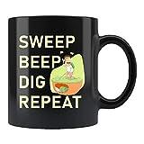 Geocaching Gift, Geocacher Mug, Geocacher Gift, Geocaching Mug, Treasure Hunting Gift, Treasure Hunter Mug, Sweep Beep Dig Repeat