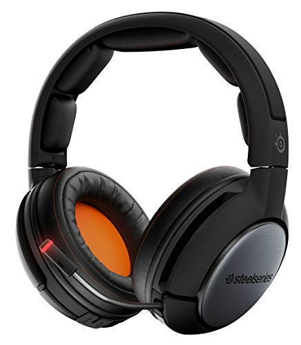 SteelSeries Siberia 840, Gaming-Headset, Drahtlos, Bluetooth, Dolby 7.1 Surround, PC / Mac / Playstation 4 / AppleTV / Roku / Mobilgerät