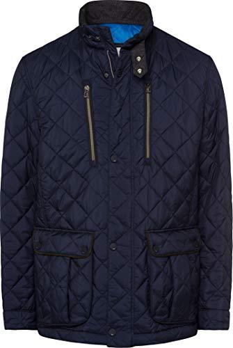 BRAX Herren Style Torino Outdoor City Nylon Wattiert Jacke, Navy, Large (Herstellergröße: 52)