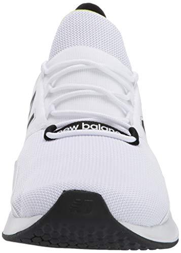 New Balance Fresh Foam Roav', Zapatillas para Correr de Carretera Hombre, Blanco (White/Black), 46.5 EU
