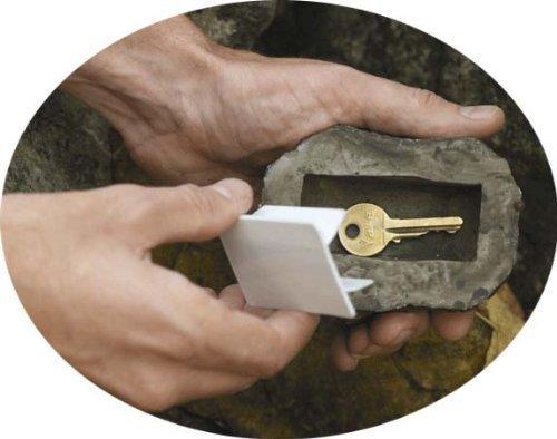 ODN Hide a Key Fake Rock Safe Outdoor Realisic Stone Outside Secret Key...