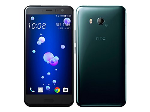 HTC 【SIMロック解除済】Softbank HTC U11 601HT Brilliant Black 64GB