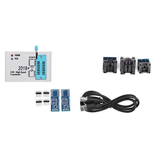 FTVOGUE Piezas del Programador SPI Flash de Alta Velocidad, EZP2019 USB 2.0 12MBPS Compacto Programador Soporte