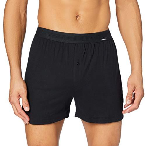 Skiny Herren 082327 Boxershorts, Schwarz (Black 7662), S