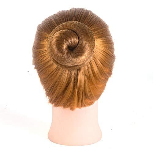 DILISEN 20 pcs Filets de Cheveux Invisibles Maille de Bord élastique pour Les Femmes Chignon, Noir (Noir)