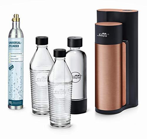 Sodapop Harold Wassersprudler, Rostfreier Stahl, Kupfer