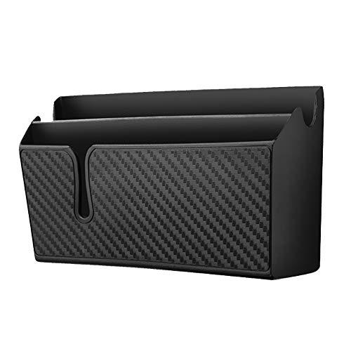 Piezas de automóviles Box Car de almacenamiento - caja de almacenamiento de múltiples funciones del coche, Pegajoso Caja de almacenamiento de coches, soporte for teléfono móvil, Organizador, pluma de