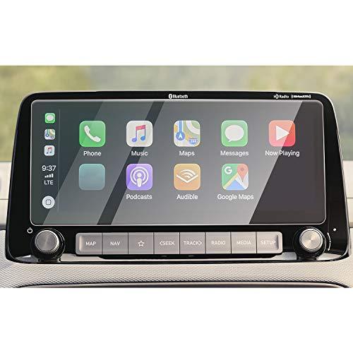 CDEFG für Kona 2020 Auto Navigation Glas Schutzfolie 9H Kratzfest Anti-Fingerprint 10,25 Zoll GPS Transparent Displayschutzfolie