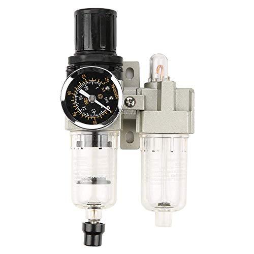 Acogedor G1/4 luchtdrukregelaar, drukregelaar met gaas, hoge sterkte, hoge temperatuurbestendigheid, goede afdichtingsprestaties, met hoge filternauwkeurigheid (25um) 500L/min