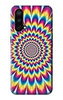 JP3162ONC カラフルなサイケデリック Colorful Psychedelic For OnePlus Nord CE 5G 用ケース