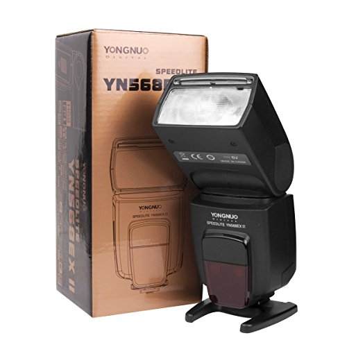 Yongnuo YN-568EX II - Flash master TTL HSS per Speedlite Canon 5D 7D 60D 50D LF246
