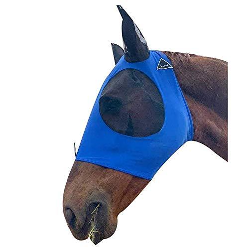 LCZ Prevent Ohr Wurde Von Einem Pferd Fliegenmasken Sicherheit Schutzmasken Schutzmasken Pferd Gebissen,Blau
